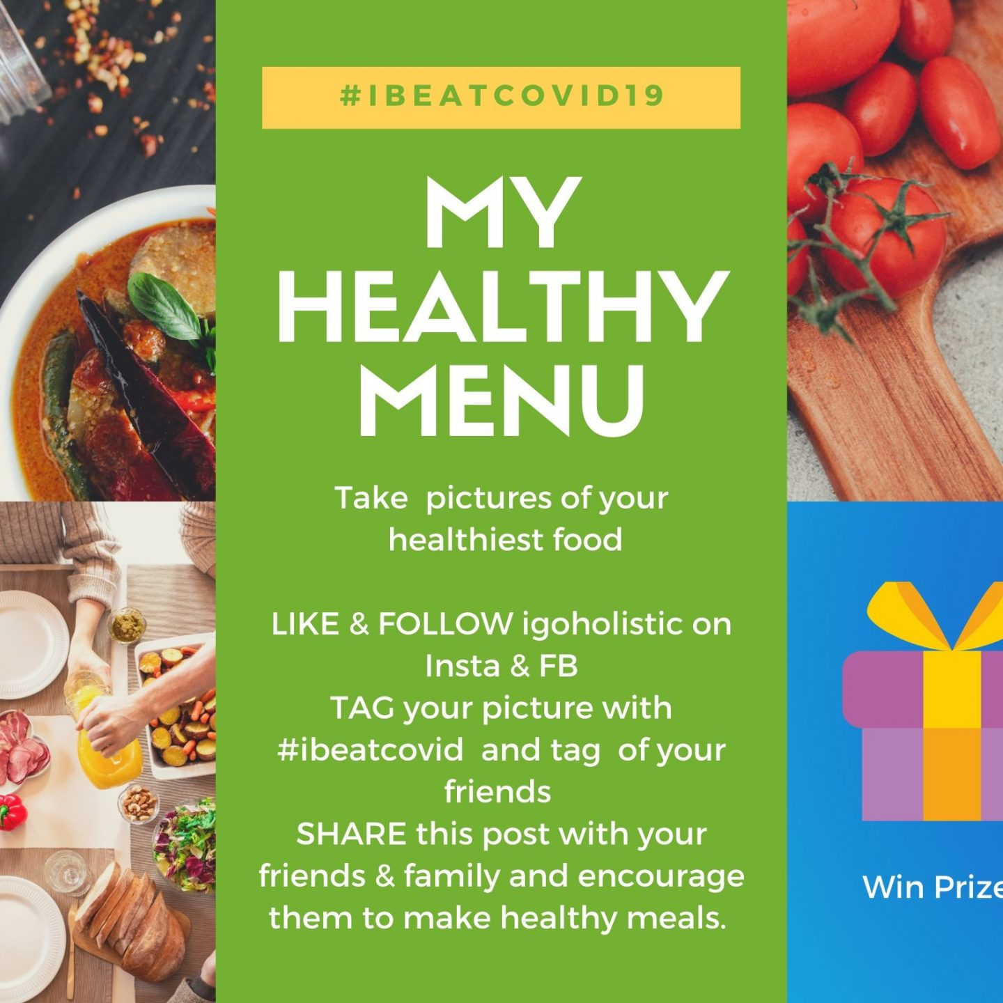 Wanna Win with your Healthy Menu?